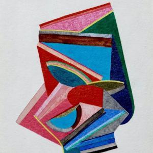 New Friend, Small Works No. 80 by Sasha Hallock