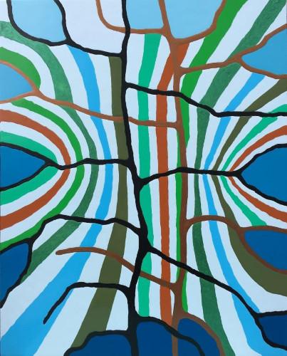 Linen Flower by Doug Holst