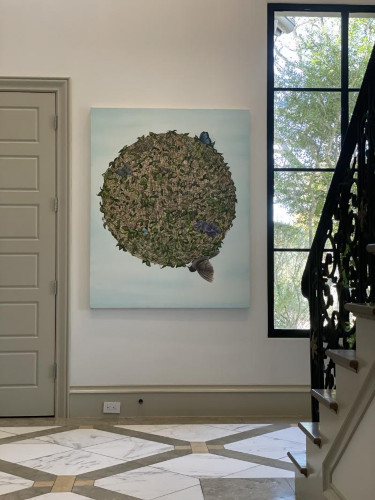 Installation View of Allison Green