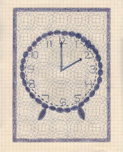 Two O'Clock by Caroline Blum