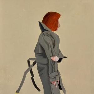 Trench Coat by Kathy Osborn