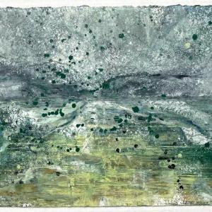 The End of Snow 13 by Deborah Freedman