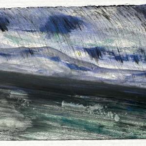 The End of Snow 25 by Deborah Freedman