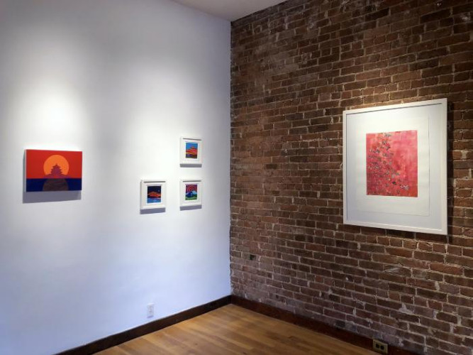 Installation View of Winter Selects 2021