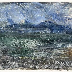 The End of Snow 16 by Deborah Freedman