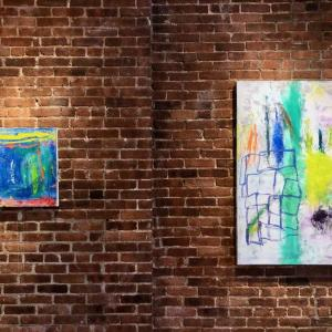 Three Abstract Artists