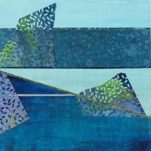 Crossing Lines, Intersections #6 by Lisa Hill