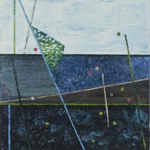 Crossing Lines, Intersections #5 by Lisa Hill