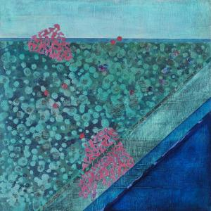 Crossing Lines, Intersections #7 by Lisa Hill