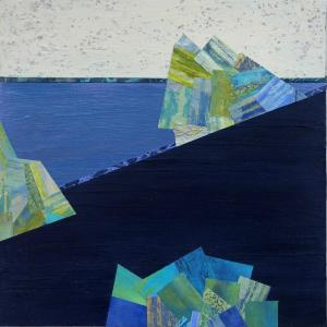Crossing Lines, Intersections #9 by Lisa Hill