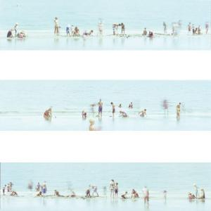 Sea Riddim I, II, III (triptych) by Heather Boose Weiss
