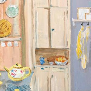 Lemon Cupboard by Melanie Parke