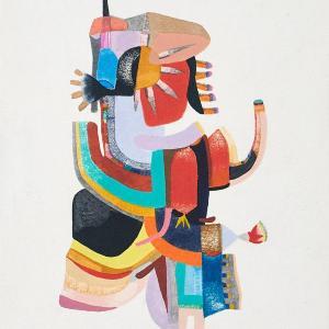 Guardian, Small Works No. 108 by Sasha Hallock