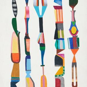 Untitled, Small Totems No. 4 by Sasha Hallock