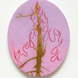 Fire Tree 19 by Jim Denney