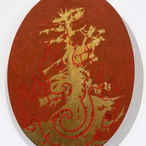 Untitled Fire Tree 1 by Jim Denney