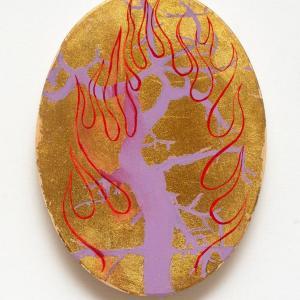 Fire Tree 1 by Jim Denney