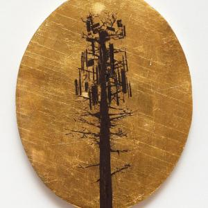 Cell Tower Tree by Jim Denney