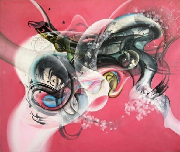 Communications (Pink) by Jongwang Lee