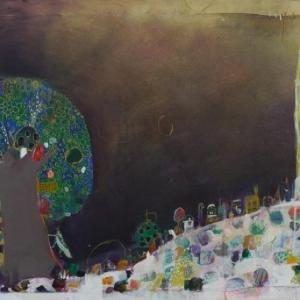 Mountain Hill by Fumiko Toda