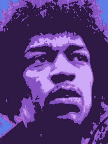 Hendrix by Kim Luttrell