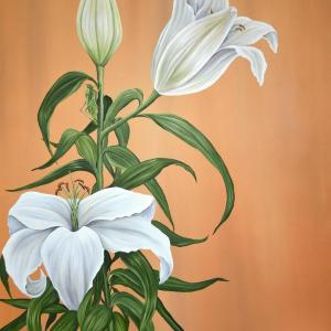 Day Lilies by Allison Green