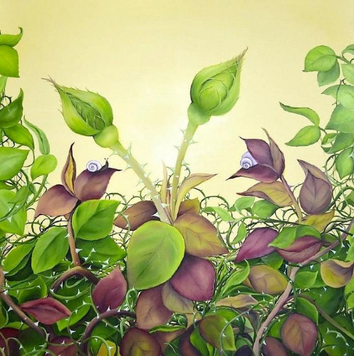 April Roses by Allison Green