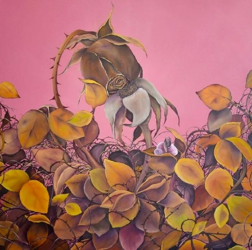 September Roses by Allison Green