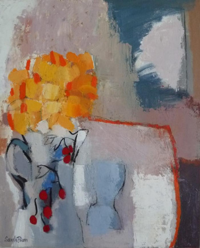 Bouquet Jaune à la Cruche aux Cerises by Sarah Picon