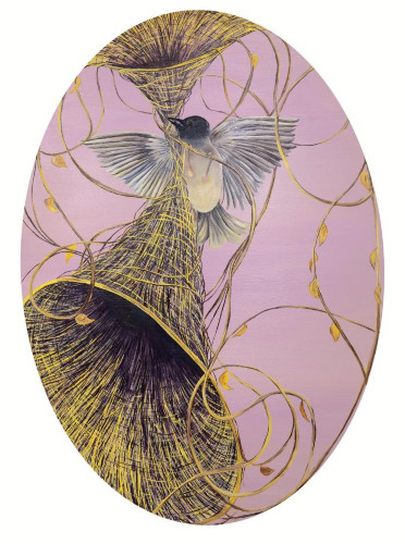 Dream Weavers (Blush) by Allison Green