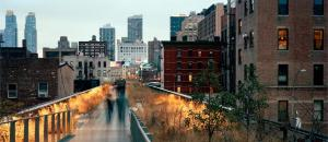 High Line at Dusk by Maria Passarotti