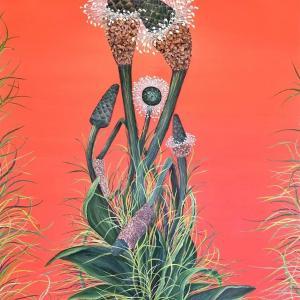 Buckhorn Plantains by Allison Green