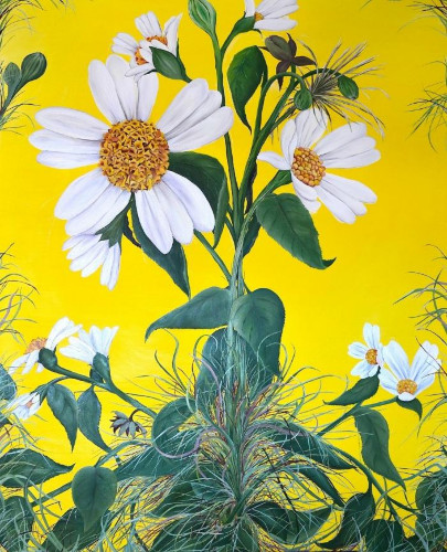 Spanish Needles by Allison Green