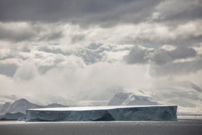 Giant tabular iceberg, Antarctica by Carolyn Monastra