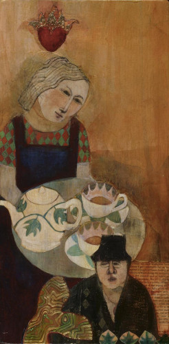 Sonya brings tea by Deirdre O'Connell