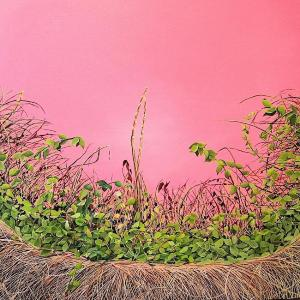 Pink Thicket by Allison Green