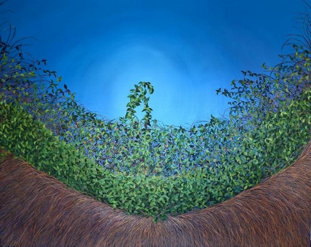 Cerulean Thicket by Allison Green