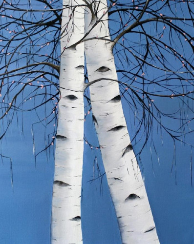 Blue Lovers by Allison Green